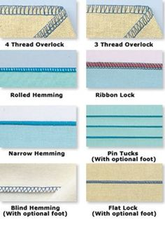 Serger Stitches 101 Cheat Sheet: Your New Must Have