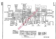 HondaCB350FWiringDiagramjpg (1278×909) | CB350F Inspiration | Pinterest | Cb350, Honda CB