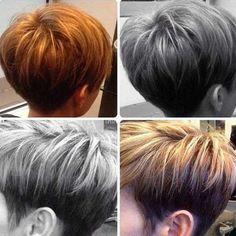 18 Latest Short Layered Hairstyles: Short Hair Trends for 2015 PoPular Haircuts Short Pixie Haircuts, Cute Hairstyles For Short Hair, Pixie Hairstyles, Layered Hairstyles, Stylish Hairstyles, Trendy Hair, Medium Hairstyles, Wedge Hairstyles, Trending Hairstyles