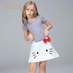 feaf318b8de9 2017 Summer Cute Baby Girl Dress Cartoon Casual Hello Kitty Dresses Cotton Children  Kids Girls Clothes for Party – World of Hello Kitty Merchandise