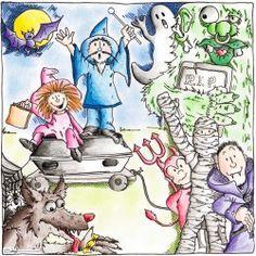 Text zum Thema Halloween – Wortschatz Deutsch