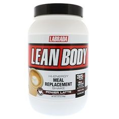 Labrada Nutrition, Lean Body, Hi-Energy Meal Replacement Shake, Power Latte, lbs g) iherb Meal Replacement Powder, Protein Meal Replacement, Meal Replacement Shakes, Gain Muscle, Hi Protein Meals, Café Latte, Muscle Nutrition, Protein Blend, Sports Nutrition