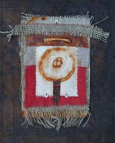 Natalie Magnin - Zamirte Textiles - rust dyeing