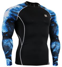 b59067ee8 Fixgear Compression Running base layer Shirt Long sleeve Workout Wear,  Workout Shirts, Workout Tops