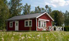 Lyckan 2. Modernes Haus mit schönes Aussicht über See Åsnen.
