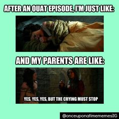 Not just OUAT. Robin Hood, Downton Abbey, SHERLOCK