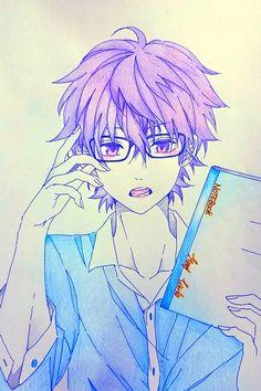 Yui con lentes