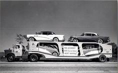 Amazing 1940's & 50's Auto Transport Photos