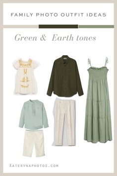 Family Photo Outfits, Family Photos, Green Earth, Clothes, Fashion, Button Up Dress, Family Picture Outfits, Full Skirts, Color Pop