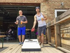 Outdoor games | Bags at Temperance Beer Company