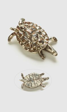Jewelry Design - Home Décor Tortoise with Metal Clay - Fire Mountain Gems and Beads