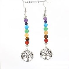 ea16fbb37 8 Best chakra Earrings images in 2019