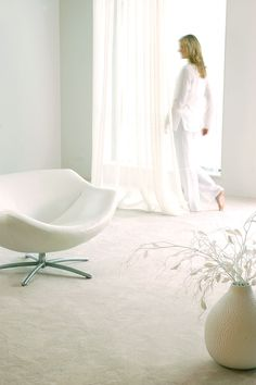 Parade Palesse #vloerbedekking #wit #white #home #interior