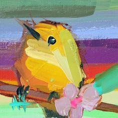 Yellow Warbler no. 141 Bird Art Print by Angela Moulton Bird Prints, Framed Art Prints, Atelier D Art, Wow Art, Bird Drawings, Bird Pictures, Animal Paintings, Bird Paintings, Bird Art