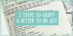 Ah, the daily To-Do List… the heart and soul of any planning system, but especially the Bullet Journal. I often get emails asking me how I decide what goes on my to-do list each day, how I prioritize it, and how I decide what to tackle first each day. A lot of you are strugglingRead more