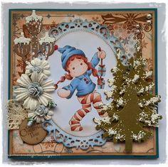 Handmade by Krista Magnolia Stamps, Frame, Cards, Handmade, Google, Home Decor, Hand Made, Homemade Home Decor, Decoration Home