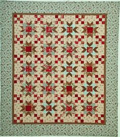 From Traditional Fat Quarter Quilts, by Monique Dillard