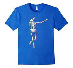 Dabbing Skeleton - Cool Cinco de Mayo Shirt for Men Funny