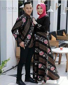 Wedding couple fashion dresses 62 Ideas for 2019 Muslim Fashion, Modest Fashion, Hijab Fashion, Fashion Dresses, Style Fashion, Modest Dresses, Modest Outfits, Batik Muslim, Dress Batik Kombinasi
