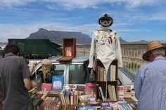 Milnerton Flea Market, Cape Town. For years, the #Milnerton #FleaMarket has drawn bargain hunters and those with a sharp eye for a genuine antique or design piece among the 250 odd stalls set up beside Marine Drive.