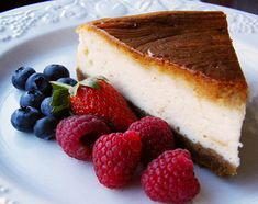 It's National Cheesecake Day, and we've got 12 delicious cheesecake recipes just for you. We've got light & fit cheesecakes, tie-dyed and even bacon cheesecake recipes. Whatever you're in the mood for we've got your covered. Low Fat Cheesecake, Greek Yogurt Cheesecake, Vegan Cheesecake, Chocolate Cheesecake, Cheesecake Tarts, Classic Cheesecake, Pumpkin Cheesecake, Yogurt Cake, Rainbow Cheesecake