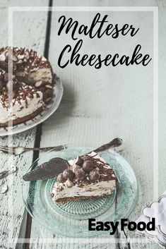 This Malteser cheesecake is our all time favourite cheesecake recipe!  #Malteser #Maltesercheesecake #Cheesecakes