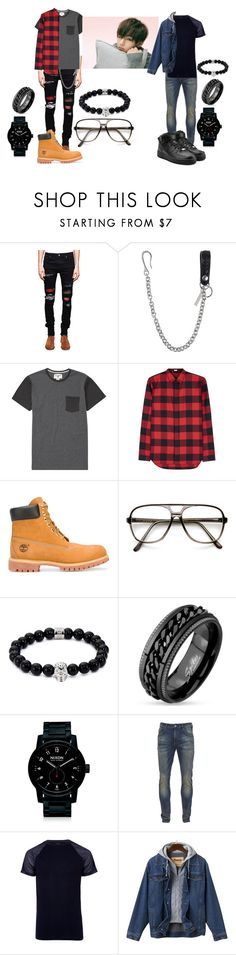 """""""Baepsae - V"""" by elliepetkova ❤ liked on Polyvore featuring AMIRI, Dsquared2, Billabong, Dior Homme, Timberland, ZeroUV, Northskull, Nixon, Scotch & Soda and River Island"""