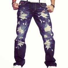 Cipo /& Baxx-cd138-Super Slim Fit-Jeans Uomo Pantaloni-Nuovo