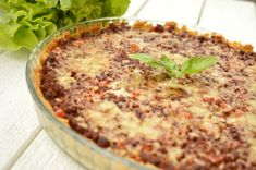 Vegetarisk färspaj med kikärtspajskal Quiche, Curry, Breakfast, Blog, Breakfast Cafe, Curries, Quiches, Custard Tart