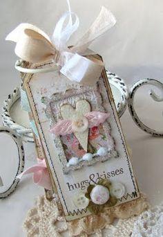 iralamija: So Lovely. Handmade Tag Book.