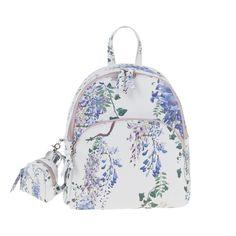 Blue Garden of eden backpack // Parfois