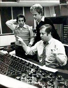 """Bridge Over Troubled Water"" session ,CBS Studio B,52nd Street, Roy Halee."