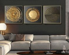 Abstract Canvas Painting Gold Black White Modern Square Texture Posters And Prin. - wall art decor - Abstract Canvas Painting Gold Black White Modern Square Texture Posters And Prints Home Decor Wall - Living Room Pictures, Wall Art Pictures, Office Pictures, Canvas Pictures, Rooms Home Decor, Home Decor Wall Art, Bel Art, Grand Art Mural, Art Minimaliste