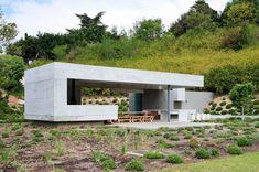 Gartenpavillon aus Beton für moderne Gartengestaltung