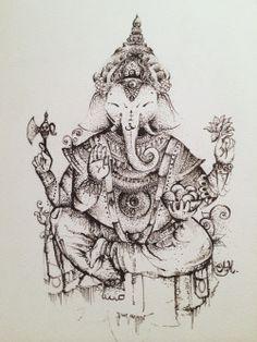 Art d'illustration noir et blanc conception boho fleurs éléphant âme tatouages de tatouage esprit encre liberté bohème bouddhisme lotus spirituelle esprit libre Fleur de Lotus hindouisme Ganesha Liner Ganesh Dotwork style boho inde encre de tatouage de lotus tatouage asiatique Ganesha Ganesha tatouage