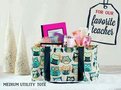 Logan's teachers may be getting this for Christmas. I love the Medium Utility Tote.