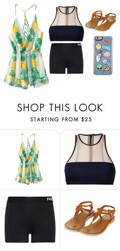 """Untitled #39"" by aly267 on Polyvore featuring T By Alexander Wang and NIKE"