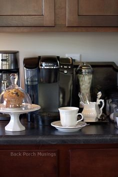 A Coffee Station - Back Porch Musings