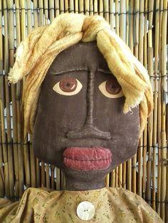 Black Americana Rag Doll Primitive Folk Art | eBay