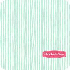 Simpatico Organic Minty Straws Yardage Cloud9 Organic Fabrics - Fat Quarter Shop