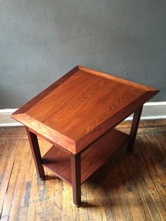A personal favorite from my Etsy shop https://www.etsy.com/listing/251246026/mid-century-modern-end-table-danish