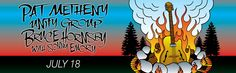 Pat Metheny Unity Group / Bruce Hornsby with Sonny Emory Friday, July 18, 2014