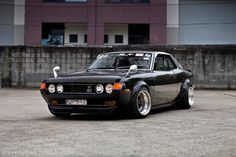 1970 Toyota Celica. I want this fucking car!