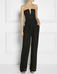 SASS & BIDE All About The Bass Silk Jumpsuit