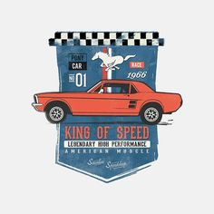 Ford Mustang - King Of Speed