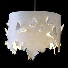 Butterfly pendant lamp