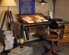office - office decor - home office - Architect Bureau Desk for home office
