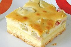 Quark - Rhabarber - Kuchen