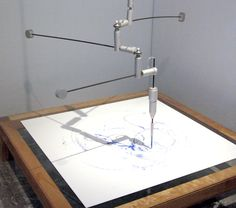 (l'outil) Drawing machine