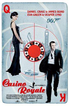 *m. Daniel Craig is James Bond in Casino Royale. Artwork by jackiejr / James Bond Fan Art #jamesbond #007